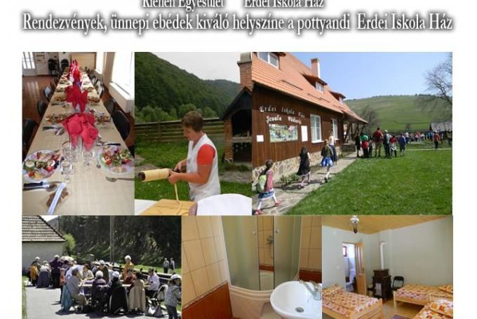 Erdei Iskola Ház Pottyand