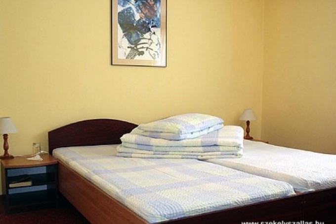 B típusú kétágyas szoba